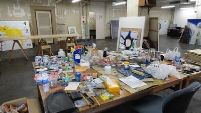 20140223 19黒田征太郎アトリエ3.JPG