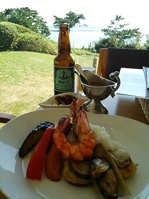 20140914 シーフードの贅沢カレー&葉山ビール.JPG