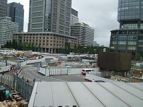 20160828 東京駅前・丸の内側.JPG